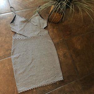 H&M Side Cutout Dress